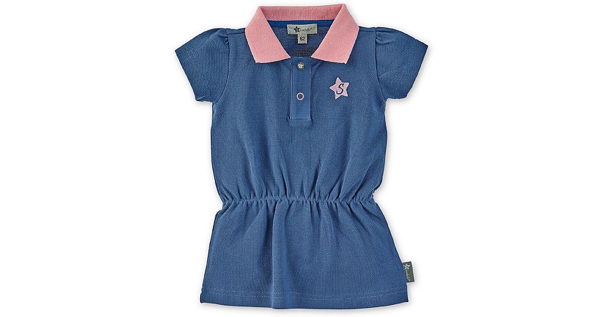Baby Polo-Kleid blau Gr. 86 Mädchen Kleinkinder