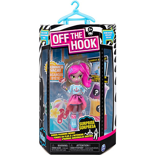 "Кукла Spin Master Off the Hook ""Вивиан: летние каникулы"", с аксессуарами от Spin Master"