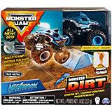 Набор Spin Master Monster Jam Megladon, с машинкой и кинетическим песком