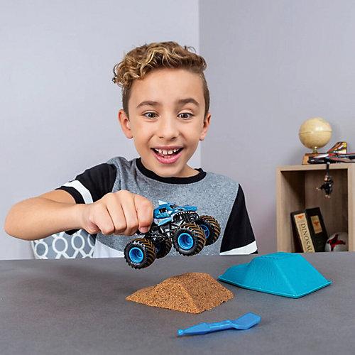 Набор Spin Master Monster Jam Megladon, с машинкой и кинетическим песком от Spin Master
