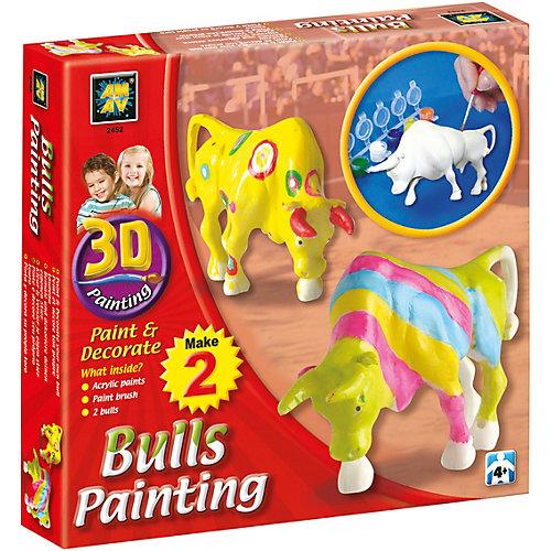 Набор для творчества AMAV «Разрисуй буйволов 3D»