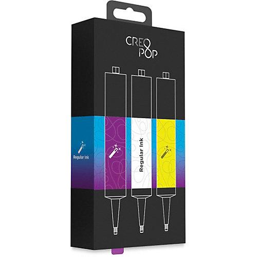Набор картриджей CreoPop, фиолетовый, белый, желтый от CreoPop