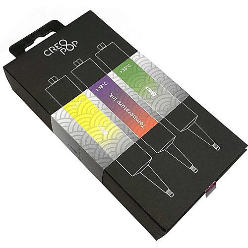 Набор картриджей CreoPop, термочувствительные, желтый, фиолетовый, зеленый от CreoPop