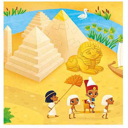 Книжка-панорама с наклейками Геодом «Древний Египет» от ГеоДом
