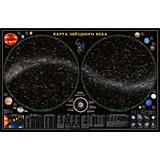 Карта настенная Геодом «Звездное небо/Планеты»