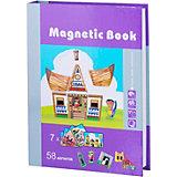 """Развивающая игра Magnetic Book """"Строения мира"""""""