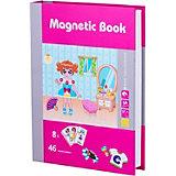 """Развивающая игра Magnetic Book """"Модница"""""""