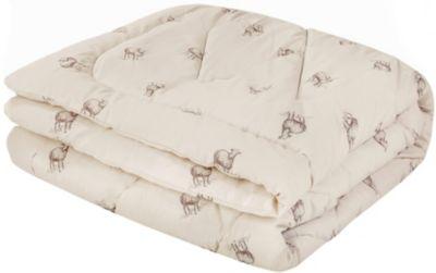 Одеяло Василиса 140х205 см, поплин / шерсть мериноса