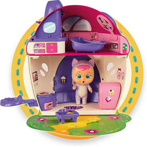Плачущий младенец IMC Toys Cry Babies Magic Tears Кэти с домиком и аксессуарами от IMC Toys