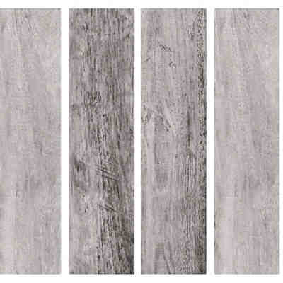 Wandsticker Gray Barn Wood Planks, 16-tlg.