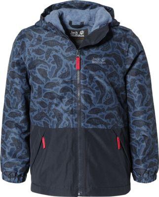 jack wolfskin kinder snowy days jacket kids wetterschutzjacke