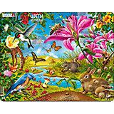 Пазл Larsen Цветы и птицы