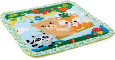 3in1 Krabbeldecke Spieldecke Spielbogen Spielmatte Erlebnisdecke Musik Baby Gym GläNzende OberfläChe Baby