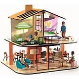 Сборный дом для кукол Djeco