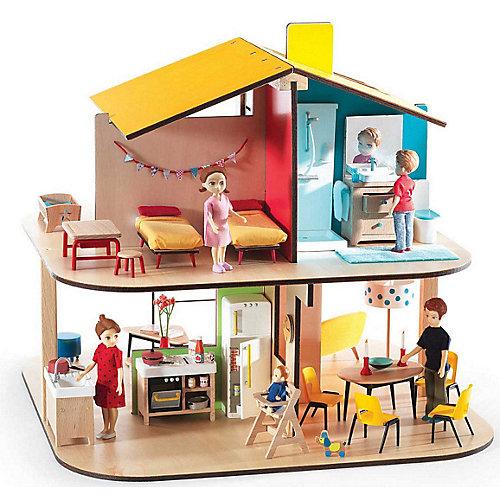 Сборный дом для кукол Djeco от DJECO