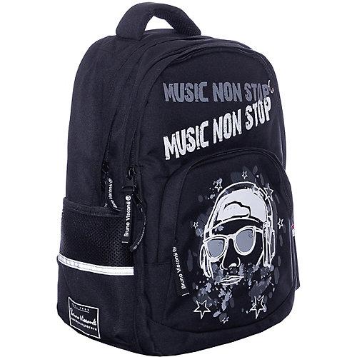 Рюкзак BrunoVisconti Music Party, черный - разноцветный от Bruno Visconti