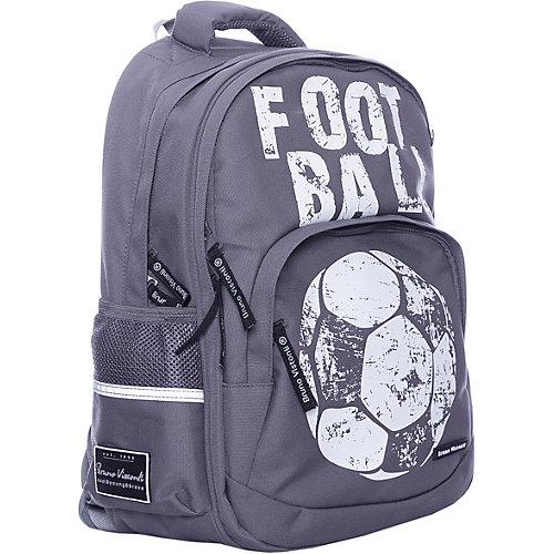 Рюкзак BrunoVisconti «Футбол», серый - разноцветный от Bruno Visconti