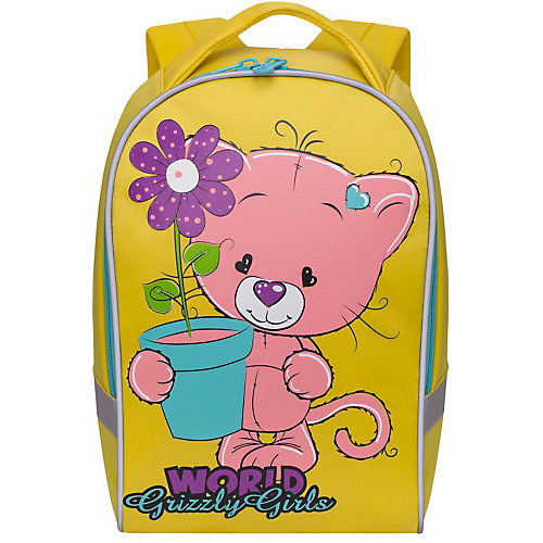 Рюкзак детский Grizzly, желтый от Grizzly