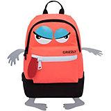 Рюкзак детский Grizzly, оранжевый