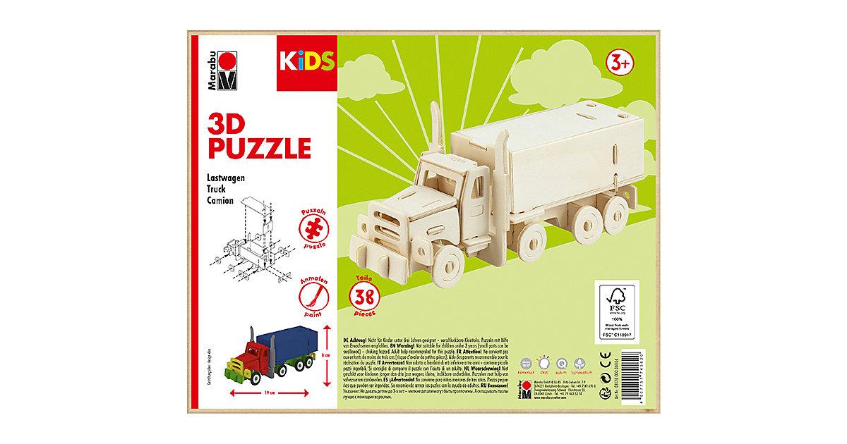 KIDS 3D Puzzle Holzbausatz Truck