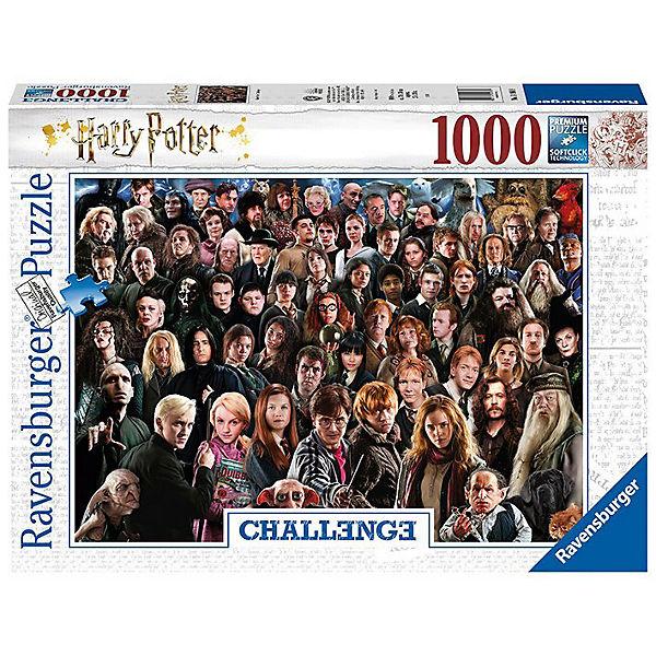 Puzzle 1000 Teile 70x50 Cm Harry Potter Harry Potter Mytoys