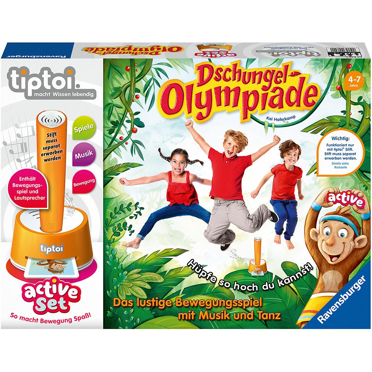 Dschungel Olympiade Tiptoi
