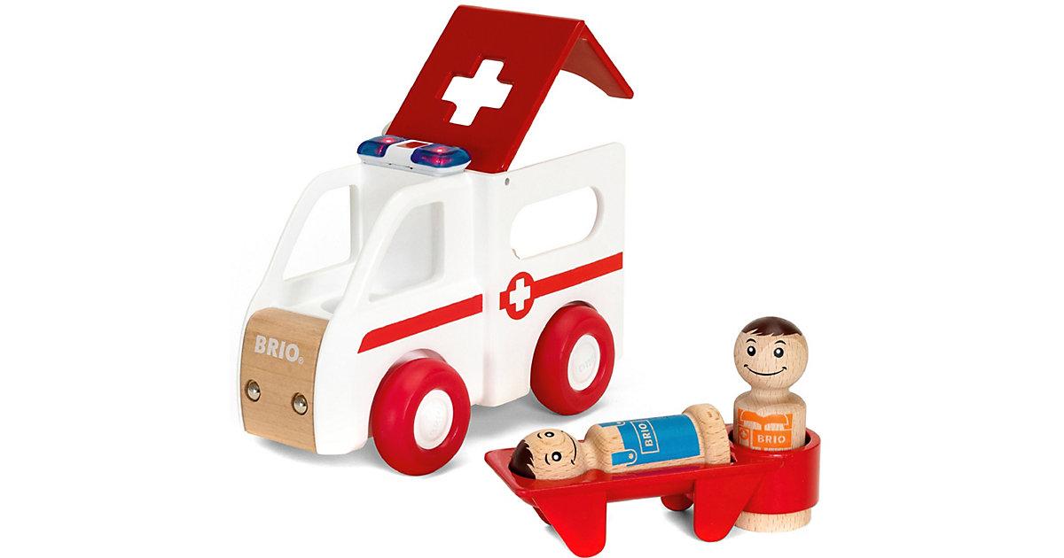 Brio · BRIO® Krankenwagen mit Licht und Sound 30381