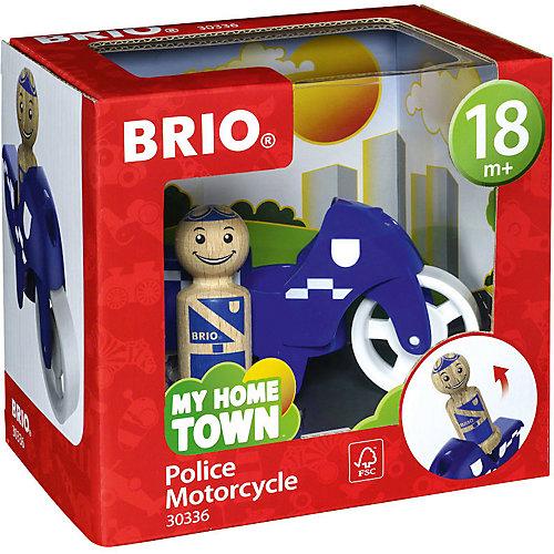 """Игровой набор Brio """"Мой родной дом"""" Полицейский мотоцикл от BRIO"""