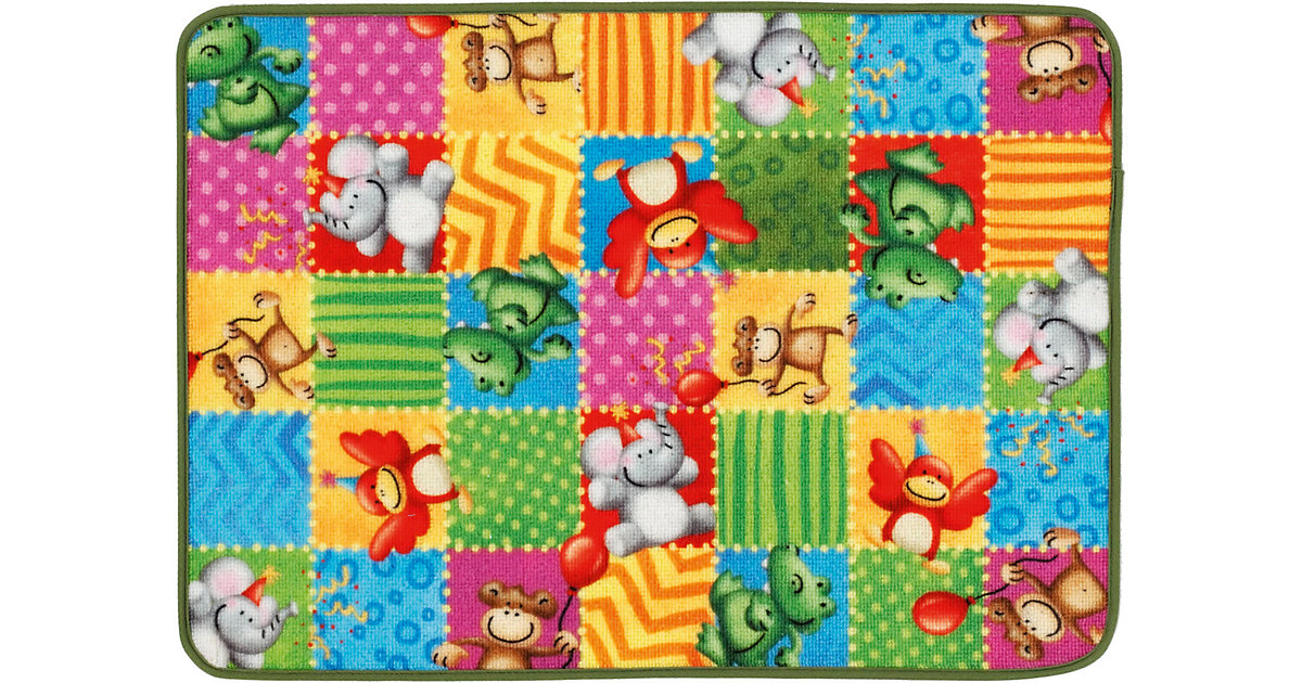 Kinderteppich Lovely Kids, Zootiere, 50 x 70 cm