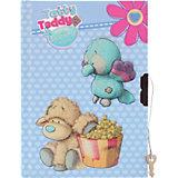 Блокнот с замком ACTION!, Blue Nose Friends,  твердая обложка, пакет