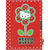 Блокнот с замком ACTION!, Hello Kitty, твердая обложка, пакет