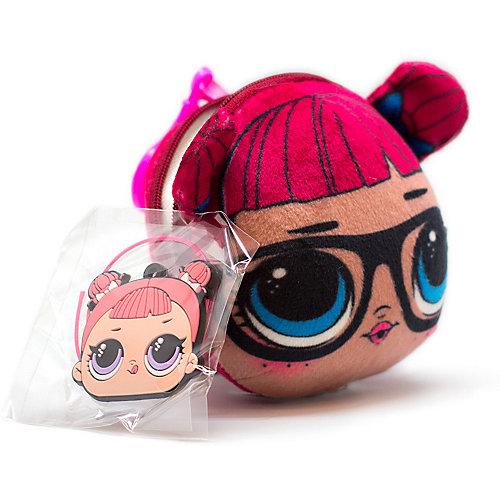 Плюшевая сумочка-антистресс LOL с сюрпризом, TeachersPet - braun/rot от MGA
