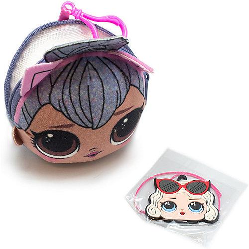 Плюшевая сумочка-антистресс LOL с сюрпризом, Kitty Queen - grau/braun от MGA