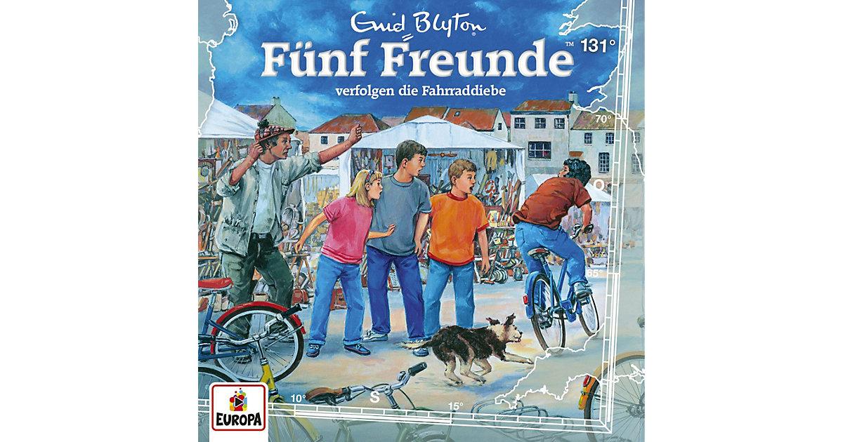 CD Fünf Freunde 131 - verfolgen die Fahrraddiebe Hörbuch
