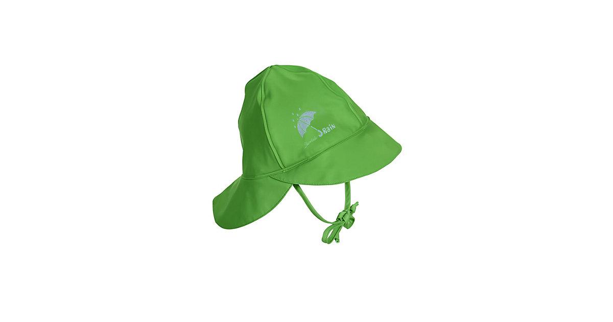 Sterntaler Regenbekleidung Regenhut m. Nackenschutz Regenhüte grün Gr. 45 Jungen Baby