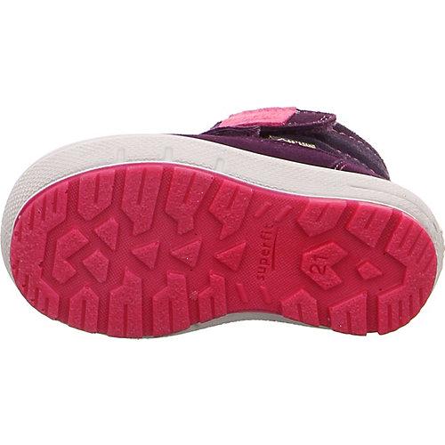 Утепленные ботинки Superfit - dunkellila от superfit