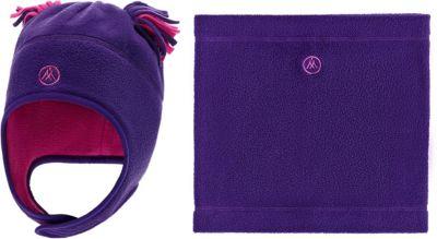 Комплект: шапка и шарф-снуд Premont для девочки - лиловый