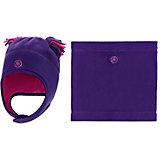 Комплект: шапка и шарф-снуд Premont для девочки