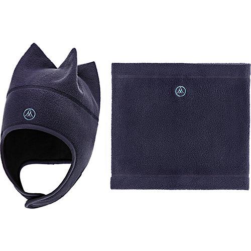 Комплект Premont: шапка и снуд - серый от Premont