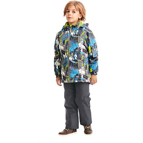 """Комплект Premont """"Парк Миллениум"""": куртка и полукомбинезон - серый от Premont"""