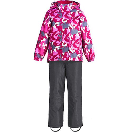"""Комплект Premont """"Сахарный клён"""": куртка и полукомбинезон - розовый от Premont"""