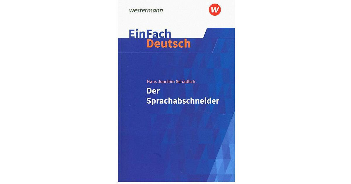 Buch - Der Sprachabschneider