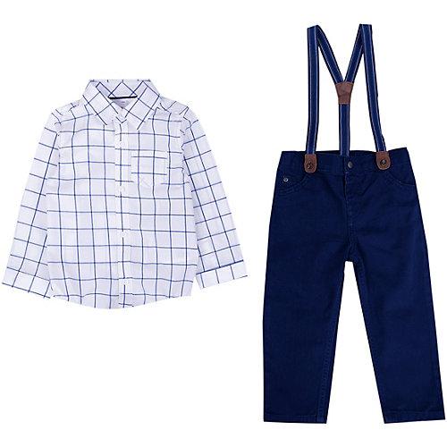 Комплект Carter's: рубашка и брюки - разноцветный от carter`s