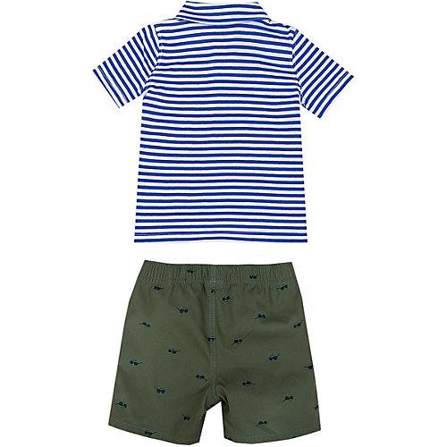Комплект Carter's: поло и шорты - разноцветный от carter`s