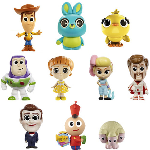 "Набор мини-фигурок ""История игрушек 4"", 10 шт от Mattel"