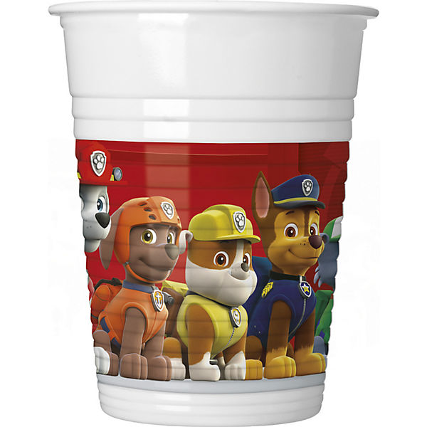 Partybecher PAW Patrol - Ready For Action 200 ml, 8 Stück