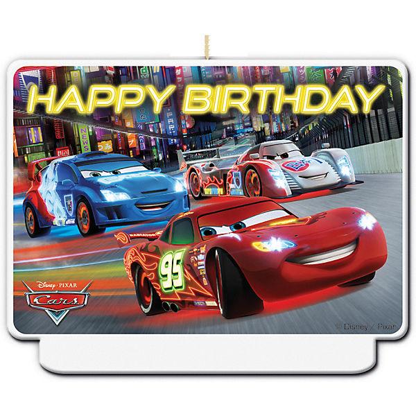Kerze Happy Birthday Dekor Cars Neon Disney Cars Mytoys