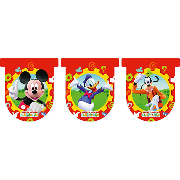Wimpelkette Mickey Mouse Club House 300 x 31 cm