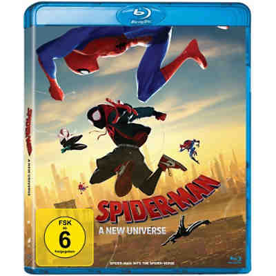 BLU-RAY Spiderman - A new Universe