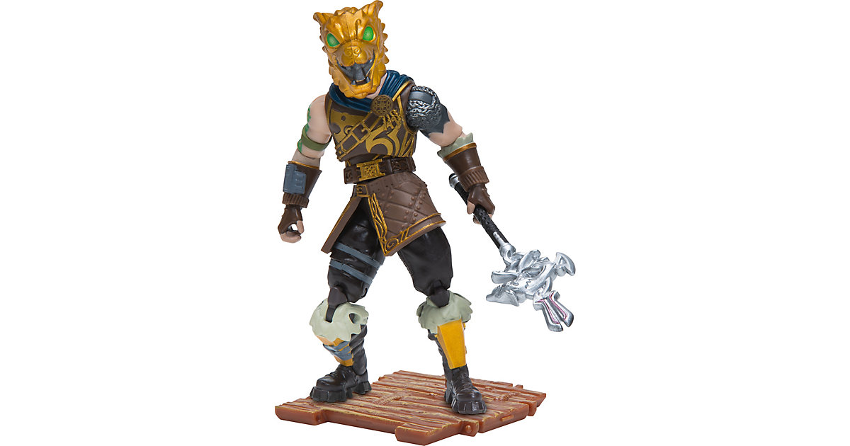 FORTNITE - Solo Mode Figur Battle Hound, 10 cm gold-kombi